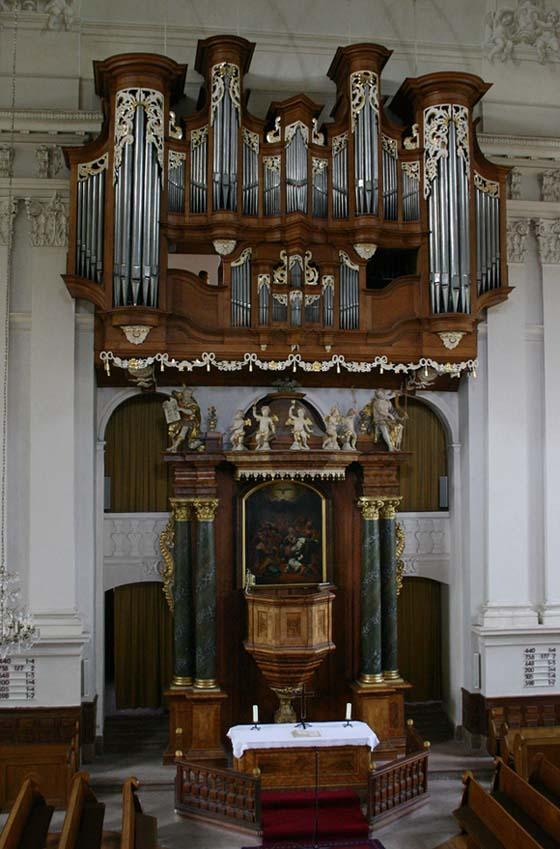 Kirchheimbolanden, Stumm-Orgel