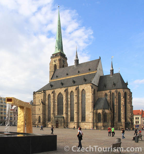 Pilsen: St.-Bartholomäus-Kathedrale