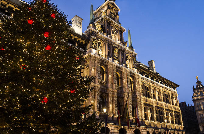 Advent in Antwerpen, Foto: Sigrid Spinnox