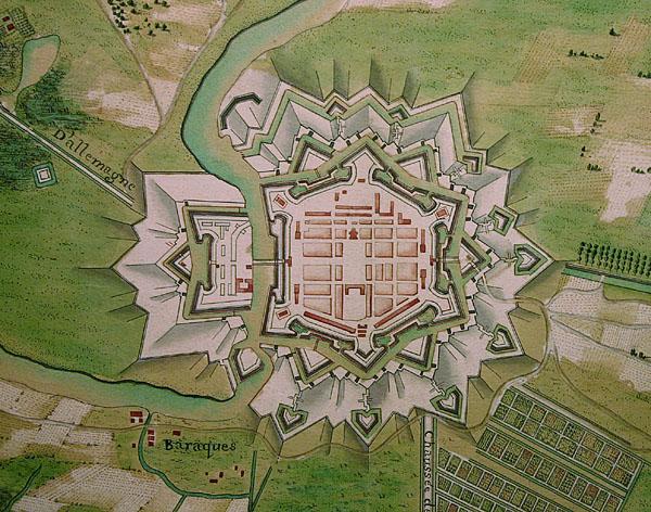 Plan Saarlouis